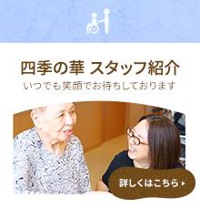 四季の華 スタッフ紹介